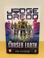 JUDGE DREDD: THE CURSED EARTH 2000AD Osprey Games Peer Sylvester Lost Card Game