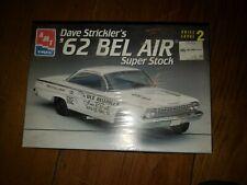 Amt 1962 Chevy Bel Air Dave Strickler Super Stock Model Car Kit '62 Belair 1/25