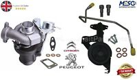 BRAND NEW TURBOCHARGER & FITTING KIT FITS FOR FORD FIESTA 1.6 TDCI 90 PS 2004 ON