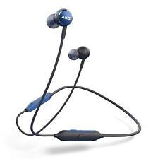 AKG Y100 WIRELESS Bluetooth Earphone Canal Type Blue AKGY100BTBLU w/Tracking NEW