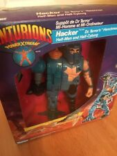 Rare Centurions Hacker Action Figure Toy Kenner - With Original Box