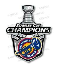 St Louis Blues 2019  Champions Precision Cut Decal