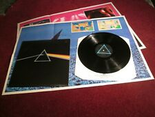 PINK FLOYD THE DARK SIDE OF THE MOON UK PRESS 2 POSTERS 2 CARDS N/M AUDIO SUPERB