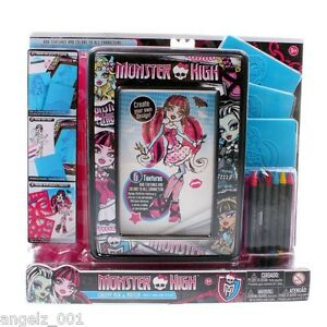 MONSTER HIGH CREEPY MIX AND MATCH 6 TEXTURES CREATE YOUR OWN DESIGNS BRAND NEW