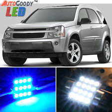 8 x Premium Blue LED Lights Interior Package for Chevy Equinox 2005-2009 + Tool