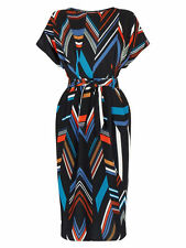 Warehouse Polyester Striped Dresses for Women