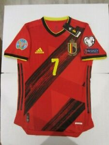 ADIDAS KEVIN DE BRUYNE BELGIUM EURO 2022 WC QUALIFIERS MATCH HOME JERSEY 2020-21