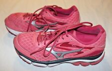 Women's sz 10 Mizuno Wave Inspire 12 athletic running shoes, melon/silver - EUC!