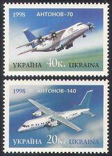 Ukraine 1998 Aircraft/Aviation/Planes/Transport/Antonov 2v set (n19305)