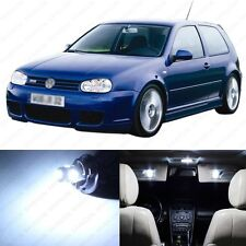 13 x White LED Interior Light Package For 1999 - 2005 VW Golf GTi R32 Mk4 + TOOL