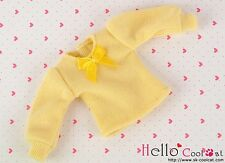 ☆╮Cool Cat╭☆ 301.【NI-S08】Blythe Pullip(Puffed Sleeves)T-Shirt # Yellow