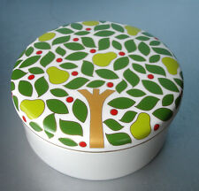 Kate Spade Lenox Pear Tree Point Covered Candy Dish Round Trinket Box $60 NEW
