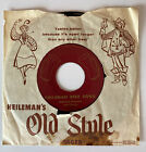 HEILEMAN'S OLD STYLE LAGER Heileman Beer Song 1955 Promo 45 AD WITH Sleeve Waltz