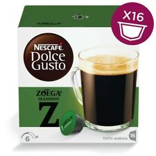 Nescafe DOLCE GUSTO: ZOEGA of Sweden -Coffee Pods- DAMAGED- FREE SHIPPING