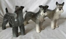 More details for 2× coopercraft & one other grey standard schnauzer dog figures