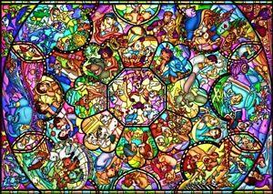 2000 Piece Jigsaw Puzzle Disney All-Star Stained Glass (73X102Cm) New F/S