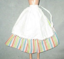 VINTAGE 1964 BARBIE in HOLLAND #0823  LONG SKIRT & WHITE APRON