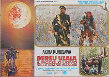 FOTOBUSTA 1, DERSU UZALA, AKIRA KUROSAWA, MUNZUK, URSS, JAPAN, POSTER AFFICHE