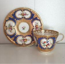 Stunning Antique Teacup And Saucer Possibly HR Daniels