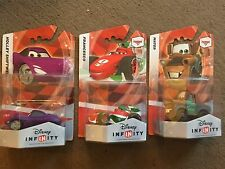 3x Disney Infinity 1.0 PIXAR CARS FIGURES MATER HOLLEY FRANCESCO Inc' CODES BNIB