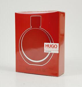 HUGO BOSS Mujer 50ml Eau de Parfum Spray Nuevo / Emb.orig