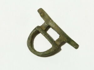 Bronze Buckle Unusual Shape Metal Detector Find - Ex Martins Lot #CM13