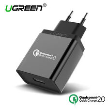 UGREEN Rapid Charger Quick Charge 2.0 USB Phone Charger 18W For Samsung HTC Sony