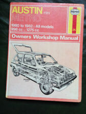 Austin Haynes 1980 Car Service & Repair Manuals