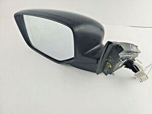 2014 Honda Accord Crosstour Driver Left Power Side View Door Mirror Black OEM