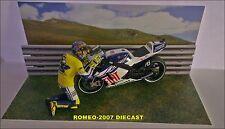 1:12 Diorama Valentino Rossi Bye Bye Valencia 2010 to Minichamps VERY RARE!!!!