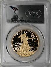 2020-W $50 Gold Eagle V75 Privy PCGS PR70DCAM First Strike 1 of 1945 Coin WWII