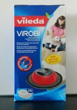 Vileda Virobi Electrostatic Cloths Refill Recharge Robot Cleaning Cloths 20 pcs