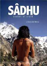 SADHU - SEEKER OF TRUTH - 2012 - FILMPOSTER A4 - HIMALAYA - GANGES