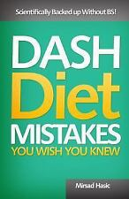 Dash Diet Mistakes You Wish You Knew, Hasic, Mirsad, Acceptable Book