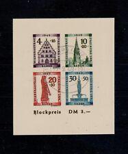 Y3) 1949  baden block 1B  (280,00 altes falschung