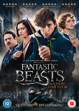 Fantastic Beasts and Where to Find Them 2016 R2 DVD UV Immediate DISPATCH