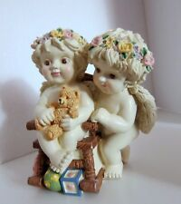 New Classics Treasures Twin Cherubs Mus 00004000 Ic Box