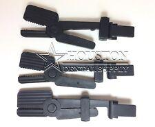 3 Dental X-RAY FILM Holder Clip Hanger BLACK SNAP Autoclavable Periapical Film