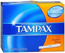 Tampax Tampons Super Plus 40 Each