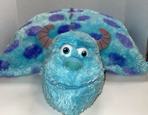 Disney Store Monsters Inc Sully Pillow Pet Plush Very Soft 20""