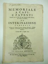 Memoriale a capi e patenti concesse ai fratelli Bormioli, vetro