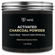 100% Natural Charcoal Powder Teeth Whitening Powder & Facial Mask