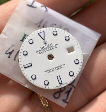 Rolex Explorer 2 Polar Dial 16570 Lumi Genuine White RARE