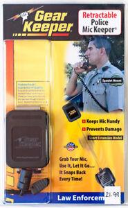 Gear Keeper Police Epaulet Mic Keeper RT2-4052 Clip Mount