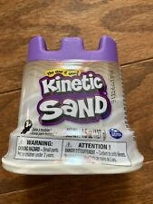 NEW~KINETIC SAND-Single Can 4.5oz size  White FREE SHIPPING