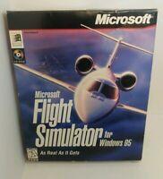 Microsoft Flight Simulator for Windows 95 PC Video Game Big Box 2