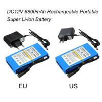DC 12V 6800mAh DC12680 Portable Li-ion Rechargeable Polymer Power Battery Pack
