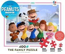 CEACO THE FAMILY PUZZLE PEANUTS SCHULZ 400 PCS BLUE SKY #2322-1