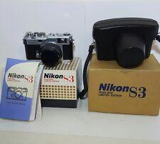 Nikon S3 Year 2000 Limited Edition Rangefinder SLR Camera w/ 50mm lens