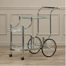 Mini Bar Cart Small Kitchen Utility Wheels Large Modern Vintage Rolling Retro